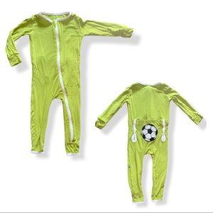 Kickee Pants soccer pajama set